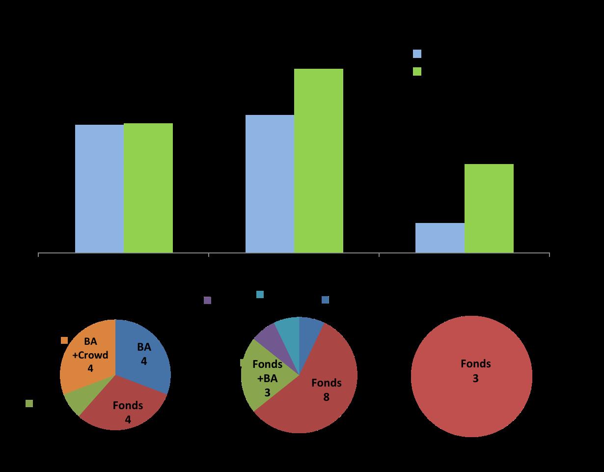 levées de fonds par type d'investisseur et maturité janvier 2015